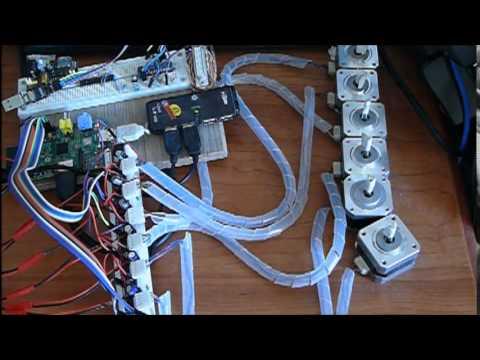 linuxcnc rpi 6axes Raspberry pi DMA driver with RT_PREEMPT kernel beaglebone