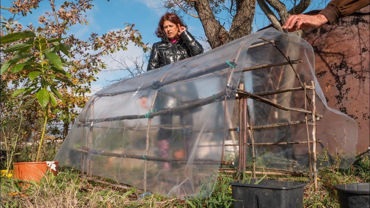 Costruire Una Mini Serra Riscaldata serra fai da te | come costruire una serra per l'orto