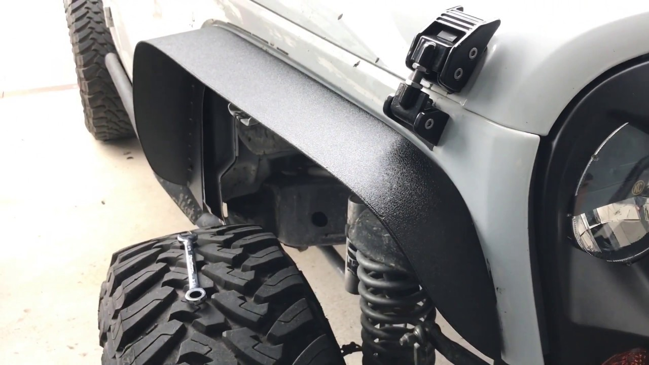 Jeep People Flat Fender Install And Review