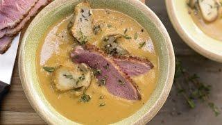 Суп-пюре из чечевицы. Суп-пюре с грибами и курицей.