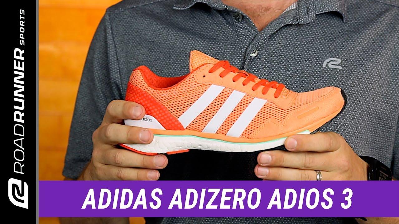 adidas Adizero Adios 3 | Women's Fit Expert Review