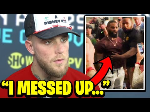 Jake Paul & Tyron Woodley Get Into A FIGHT At Press Conference
