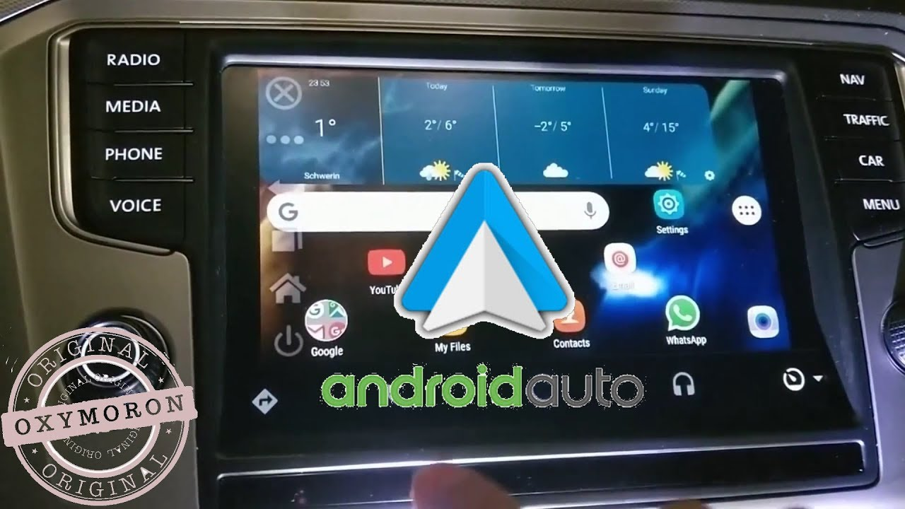 how to mirror screen android auto youtube. Black Bedroom Furniture Sets. Home Design Ideas