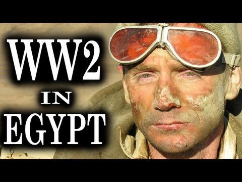 Fight for Egypt - WW2 Battle Scenes | Combat Footage | British vs Axis Forces in Africa | 1943