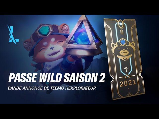 Passe Wild saison 2 | Bande-annonce du passe Wild - League of Legends: Wild Rift