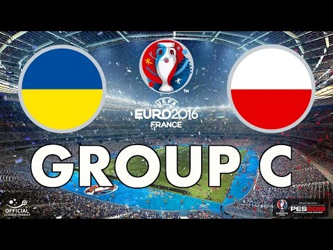 PES 2016 - EURO 2016 - Group C - Ukraine v Poland