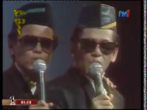 Sudirman & Atai - Medley Kembar Kota | Mekar Sejambak (1988) | Asia's No. 1 Performer