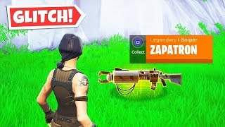 Glitch To Bring Back The Zapatron In Fortnite over powered