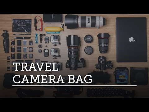 WHAT'S IN MY CAMERA BAG? Travel Photography / Filmmaking