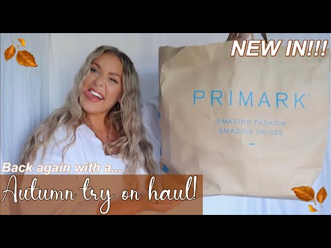 PRIMARK Try On Haul | NEW IN MUST HAVES! | Autumn/September Essentials | Lois Victoria Holt