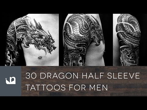 30 Dragon Half Sleeve Tattoos For Men