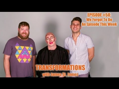 James St. James, Blake Jacobs, and Adam Asea: Transformations