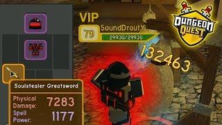 BEST WARRIOR SET IN DUNGEON QUEST!! (OVER 500K DPS!) | ROBLOX Dungeon Quest
