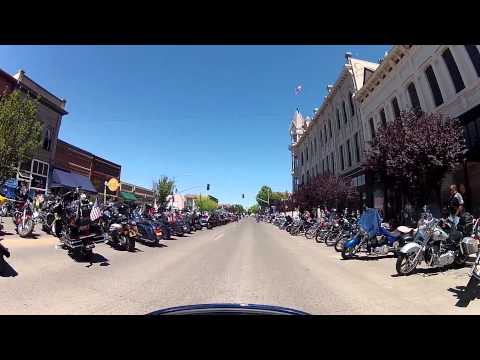 Hells Canyon Motorcycle Rally. Baker City, OR