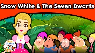 SNOW WHITE & THE SEVEN DWARFS  Fairy Tales In English   Bedtime Moral Stories   English Cartoons