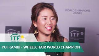 2018 Champions Dinner - Yui Kamiji - ITF Wheelchair World Champion