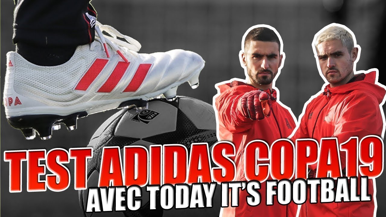 9cbedf980 ON A TESTÉ LA ADIDAS COPA19 AVEC TODAY IT'S FOOTBALL & INTERSPORT ! -  YouTube