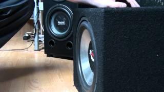 Subwoofer Renegade GTR1200  1Hz 2Hz 3Hz.MTS