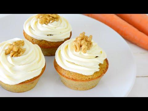 Cupcakes de Zanahoria | SALUDABLES, FÁCILES Y RÁPIDOS | AUXY