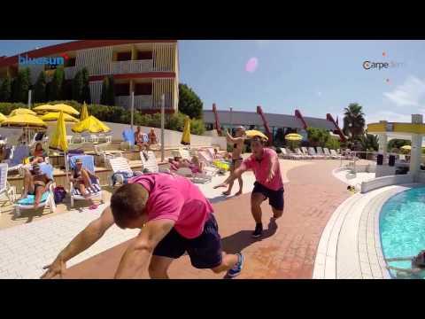 Aqua aerobic @ hotel Bonaca
