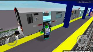 (7) Train Departing [ROBLOX]