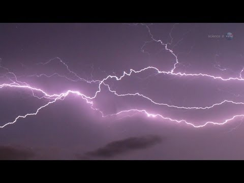 """ScienceCasts: ISS """"Firestation"""" to Explore the Tops of Thunderstorms"""