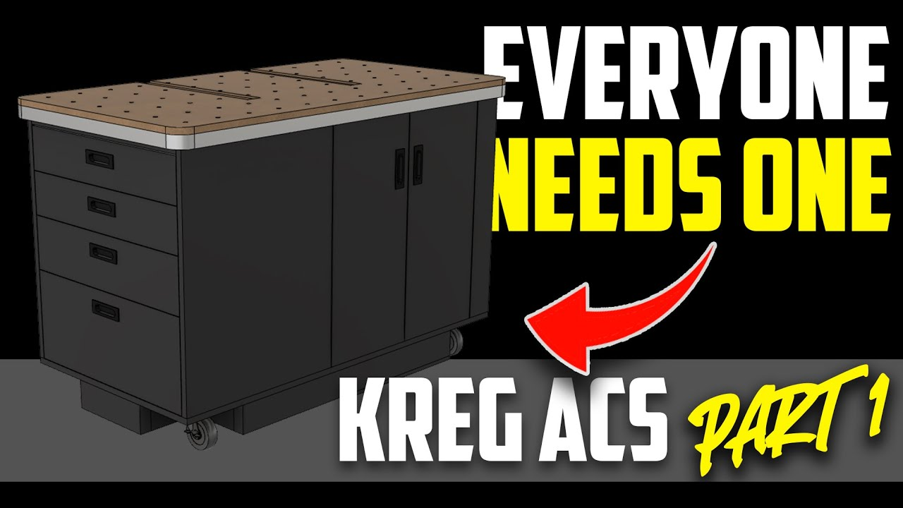 Small Dust Collection Workbench Idea (Part 1)