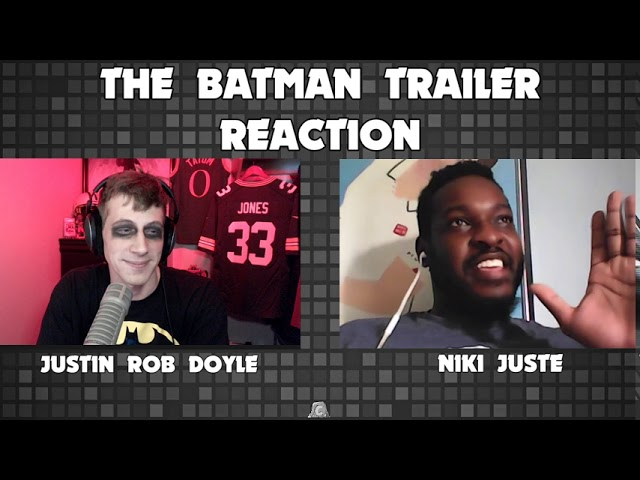 The Batman Teaser Trailer Reaction and Predictions!