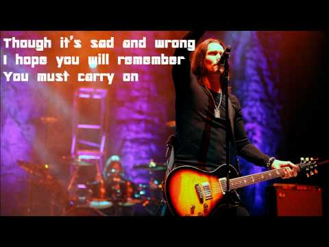I Know It Hurts by Alter Bridge Lyrics