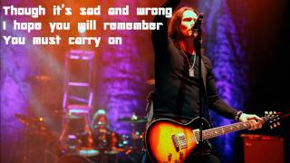 I Know It Hurts by Alter Bridge Lyrics