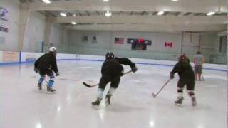 PA Puck Ice Hockey How-To: Hockey Stops