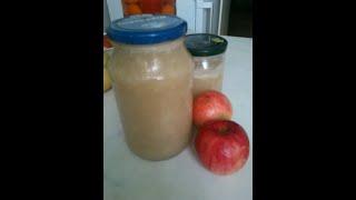Вкуснейшее пюре из яблок