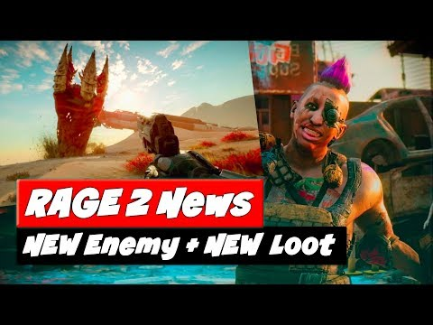 rage-2-news-|-new-sand-worm-fight-+-rewards-|-more-challenges-+-loot