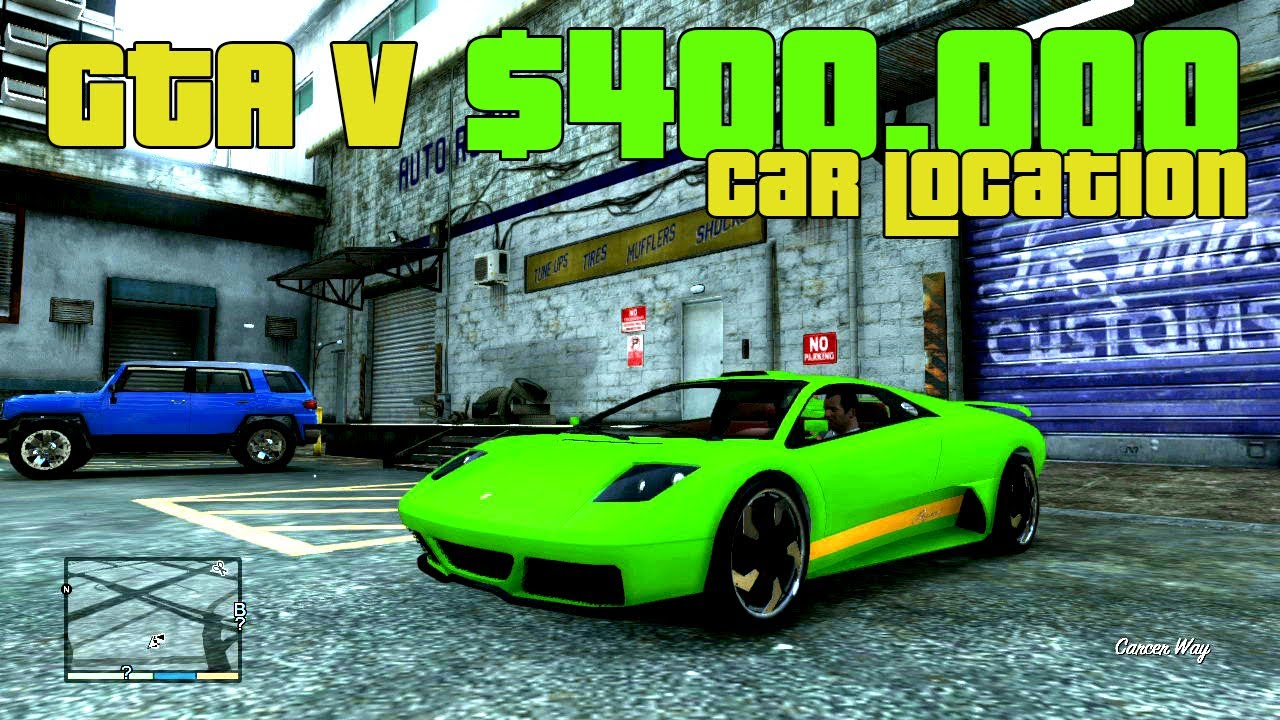 Gta V Secret Car Location Zonda 440 000 00 Car Youtube