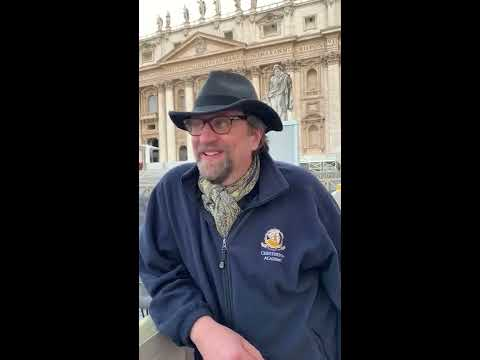 Dale Ahlquist Message to Chesterton Society From Rome, Italy  3/19/19