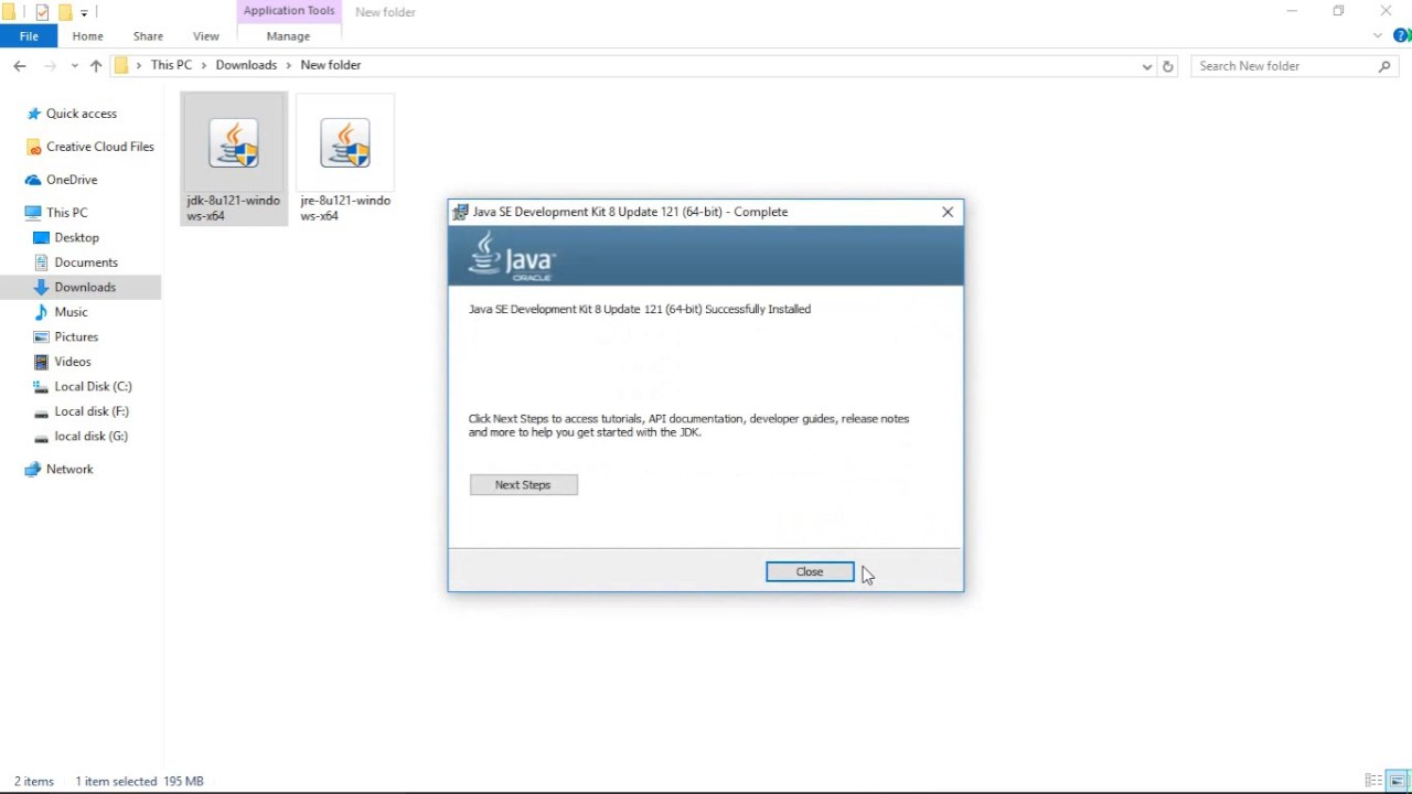How to download and set the path of java in windows