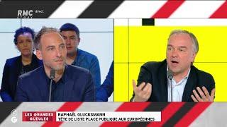 """""""Les Grandes Gueules"""" de RMC: le """"Grand Oral"""" de Raphaël Glucksmann"""