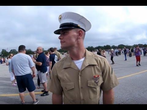 Marine Corp Boot Camp Graduation  Parris Island