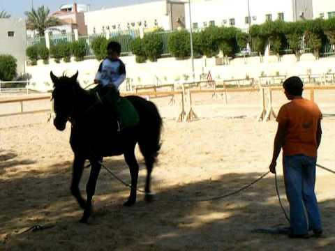 Imran's 3rd Horseback Riding Lesson