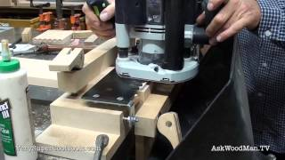 818. Using Dovetail Jig  • Table Saw Work Station Series