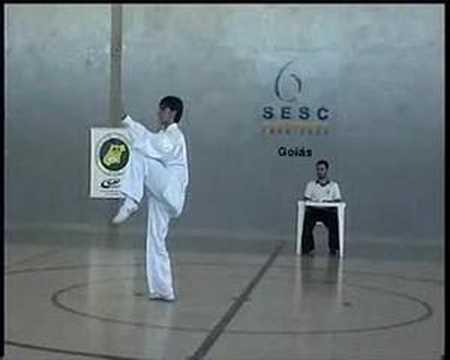 Roque Bernardes - Campeonato Goiano de Kung fu/Wushu 2007