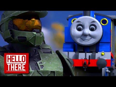 Master Chief Vs Thomas The Tank Engine Phase 2 Episode 1 Youtube