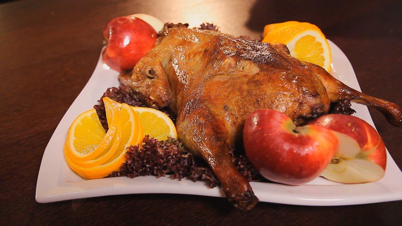 рецепт запеченная утка с фото
