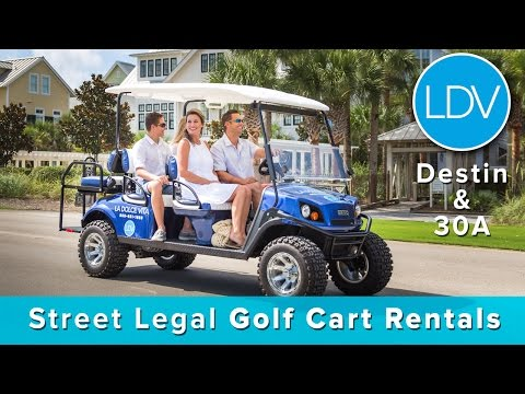 Golf Cart Rentals | La Dolce Vita | Destin Florida