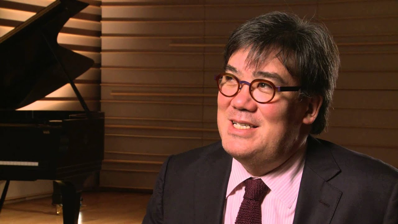 Alan Gilbert on opening night with Yo-Yo Ma