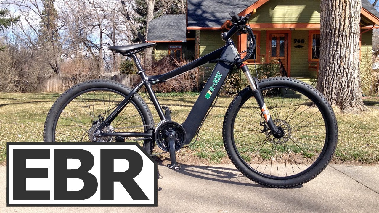 E Joe One Prototype Video Review Hardtail Electric
