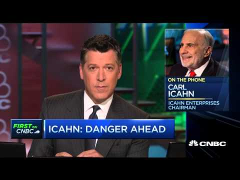 Carl Icahn - Warns Of Great Danger Ahead And Government Dysfunction - 30 Sep 15  | Gazunda