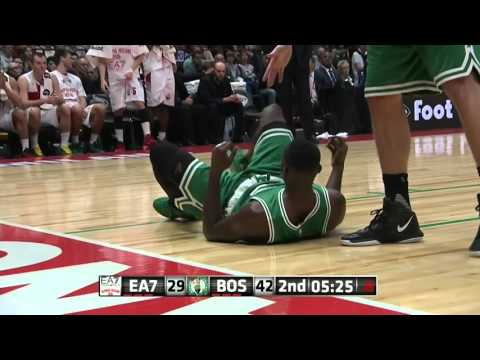 Highlights: EA7 Emporio Armani Milan-Boston Celtics
