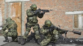 ARMA3 Видео-обзор мода спецназ ГРУ и ОМОН