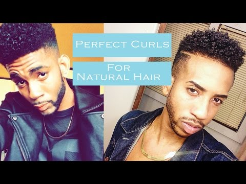how-to-get-:-perfect-curly-hair-(for-black-men-|-natural-dry-hair-)-|-2015-|-thebrandonleecook